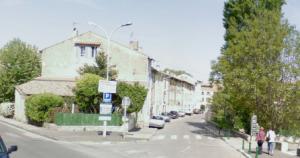 La rue de Josette et Guy Delvoye, à Peyrolles-en-Provence
