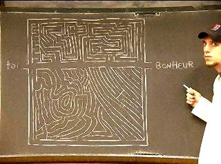 labyrinthe vers le bonheur